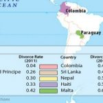 World Top Ten Countries With Lowest Divorce Rate