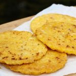 Colombian food – Arepa from Santander