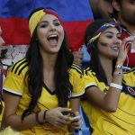 The sexiest Colombian fans – World Cup Brazil 2014 part8