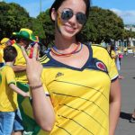 The sexiest Colombian fans – World Cup Brazil 2014 part11