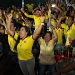 Today is  a civic and historic afternoon in ALL Colombia