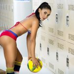 Colombian Soccer Girls of the World Cup 2014: Tatiana Ramos