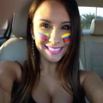 The sexiest Colombian fans – World Cup Brazil 2014 part3