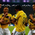 Colombia wins 2 – 0 against Uruguay