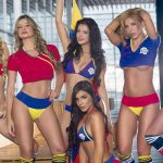 Colombian Models World Cup Photo Shooting – Video