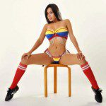 The Sexiest Colombian fans – World Cup 2014 – BEST OF – MEGA POST