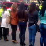 Special female police squad to hunt sexual offenders in TransMilenio in Bogota Colombia