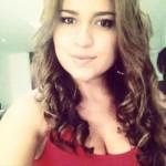 Angelica Plazas, 23, from Bogota