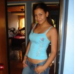Diana, 25, from Bogota, Colombia