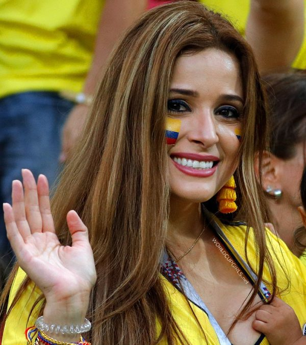 Most beautiful colombian