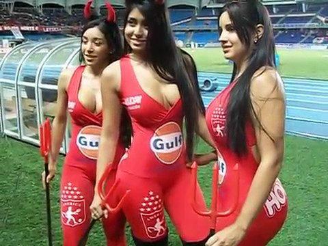 cali colombaia women cheerleaders