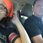 Lana and dad